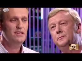 Ксения Собчак: Навальный против Чубайса 24.06.2015