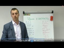 Максим Курбан: Что обязательно сказать клиенту, Цели контакта в продажах