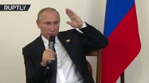 Путин об отмене контрсанкций в отношении Запада: Фиг им!