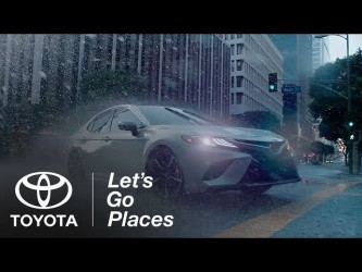 2018 Toyota Camry: Thrill | Toyota