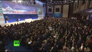Путин и Назарбаев: бизнес-форум в Астане прямая трансляция