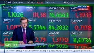 Экономика России 2016. Курс доллара и евро 24 февраля 2016