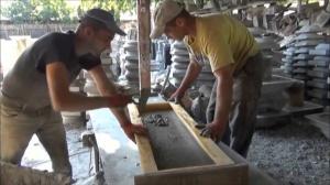 Бизнес идея в гараже.  Изготовление архитектурного бетона своими руками