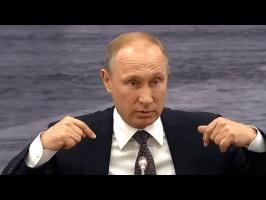 Интервью Владимира Путина с Европейскими журналистами о войне с США