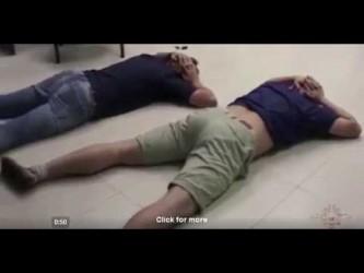 Задержание сотрудников BTC обменника в Костроме - oперативная съёмка